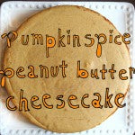 Pumpkin Spice Peanut Butter Cheesecake