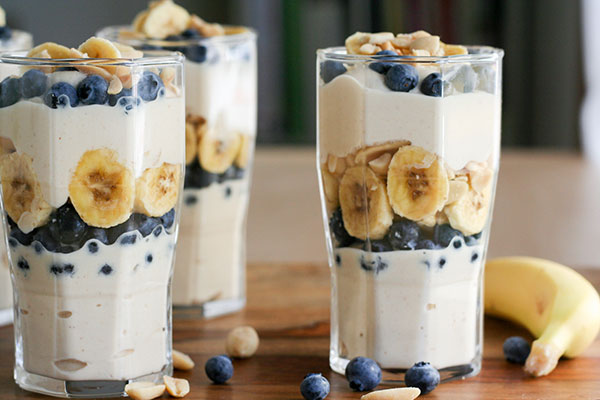 Peanut Butter Yogurt Parfaits