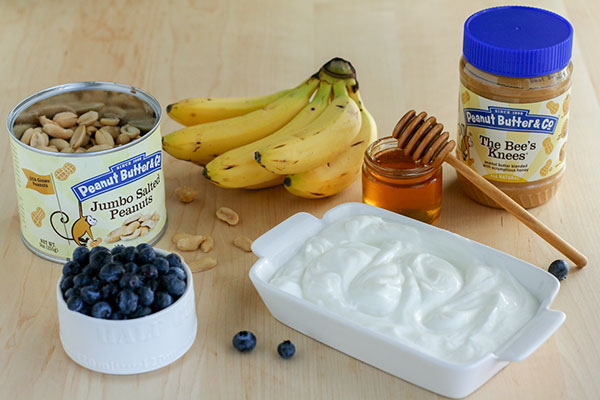 Peanut Butter Yogurt Parfaits Ingredients - Peanut Butter & Co. The Bee's Knees peanut butter