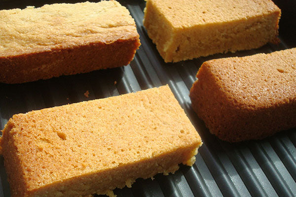 Grilled Peanut Butter Pound Cake - Grill until the cake is toasted