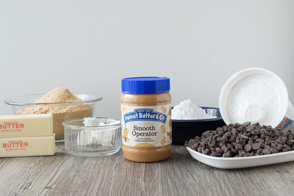 No Bake Peanut Butter S'mores Ingredients - Peanut Butter & Co. Smooth Operator peanut butter