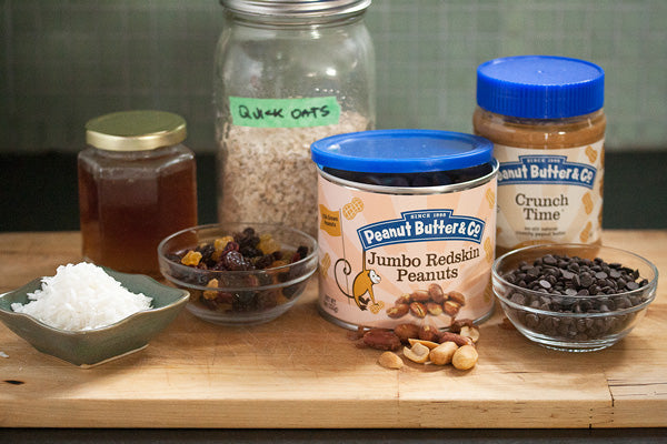 No-Bake Peanut Butter Trail Mix Cookies Ingredients - Peanut Butter & Co. Crunch Time peanut butter