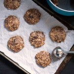 No-Bake Peanut Butter Trail Mix Cookies