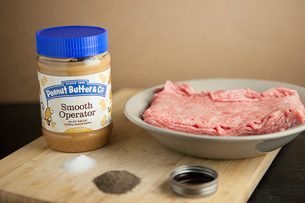 Peanut Butter and Turkey Bacon Burger Ingredients - Peanut Butter & Co. Smooth Operator peanut butter