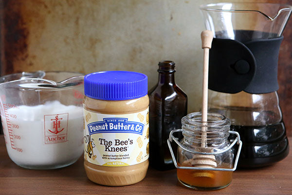 Peanut Butter Honey Lattes Ingredients - Peanut Butter & Co. The Bee's Knees peanut butter