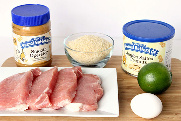Peanut Butter Panko Pork Chops Ingredients - Peanut Butter & Co. Smooth Operator peanut butter