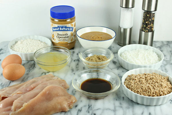 Crispy Peanut Butter Coconut Chicken Ingredients - Peanut Butter & Co. Smooth Operator peanut butter