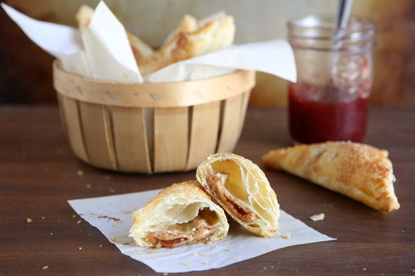 Peanut Butter and Jelly Turnovers - Serve immediately.