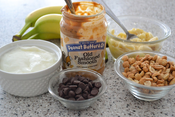 Peanut Butter and Banana Breakfast Parfaits Ingredients - Peanut Butter & Co. Old Fashioned Smooth peanut butter