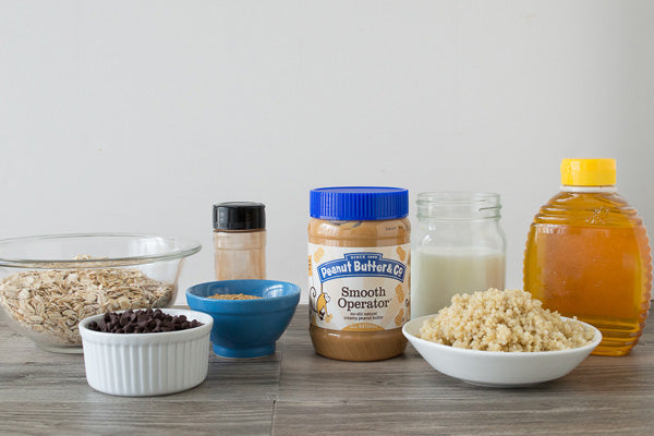 Peanut Butter Quinoa Bars Ingredients - Peanut Butter & Co. Smooth Operator Peanut Butter