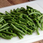 Thai-Inspired Creamy Peanut Butter Green Bean Casserole - add the beans