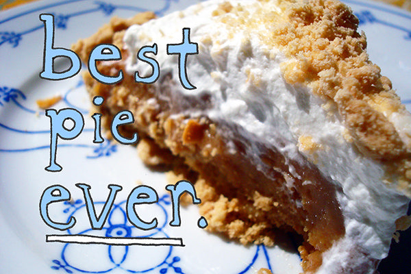 Salted Caramel Peanut Butter Pie - Best Pie Ever