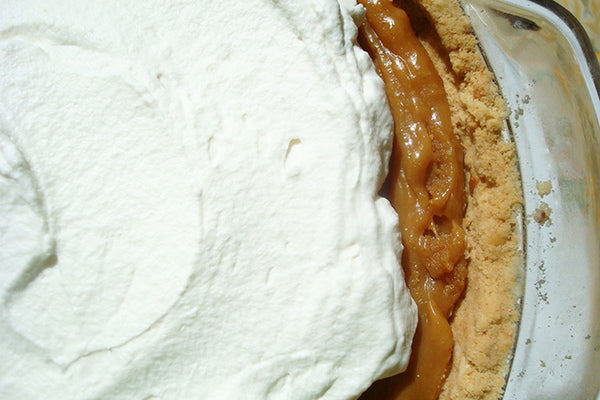 Salted Caramel Peanut Butter Pie - Refrigerate the pie until ready to serve