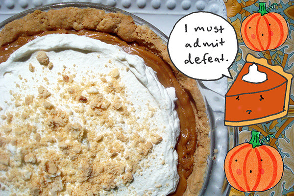 Salted Caramel Peanut Butter Pie - Sad Pumpkin