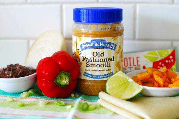 Peanut Butter Black Bean and Squash Quesadillas Ingredients