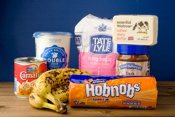 Chocolate Peanut Butter Banoffee Pie Ingredients