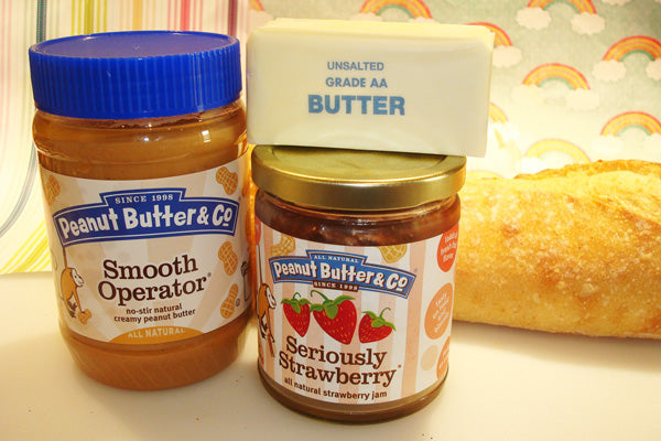Peanut Butter Crouton Ingredients