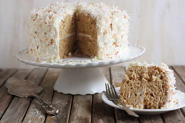 Peanut Butter Coconut Layer Cake
