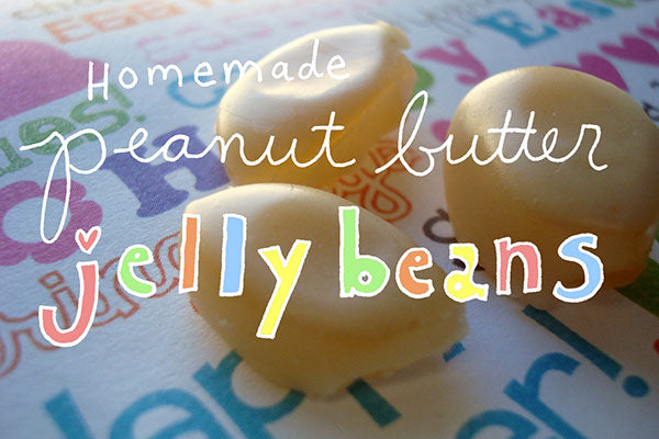 Homemade Peanut Butter Jelly Beans