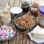 No-Bake-Chocolate-Peanut-Butter-Easter-Nests-Ingredients