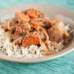 Slow Cooker Peanut Butter Potato Stew