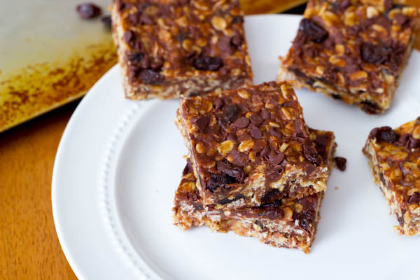 Chewy Maple Peanut Butter Granola Bars