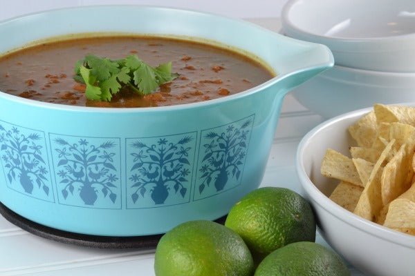 Spicy Beef Chili with Peanut Butter  Serve Hot