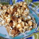 The Bee's Knees Peanut Butter Popcorn Bars