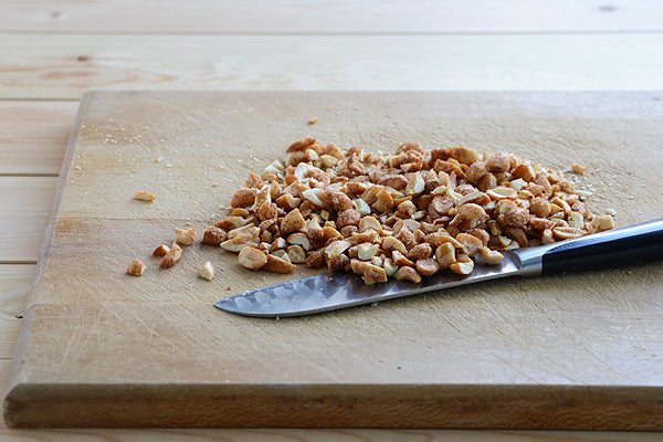 coarsely chopped peanuts