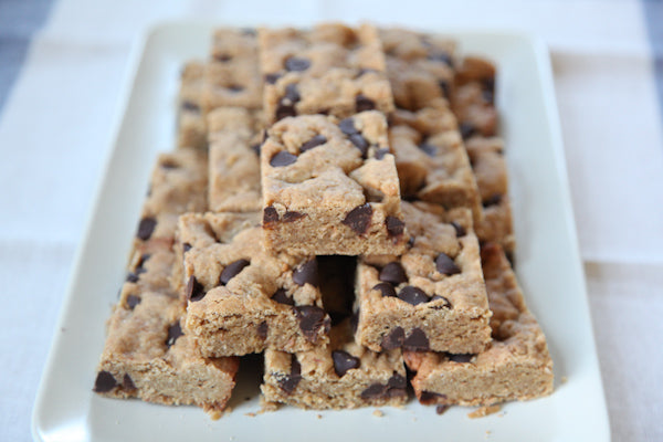 Coconut Chocolate Chip Peanut Butter Congo Bars