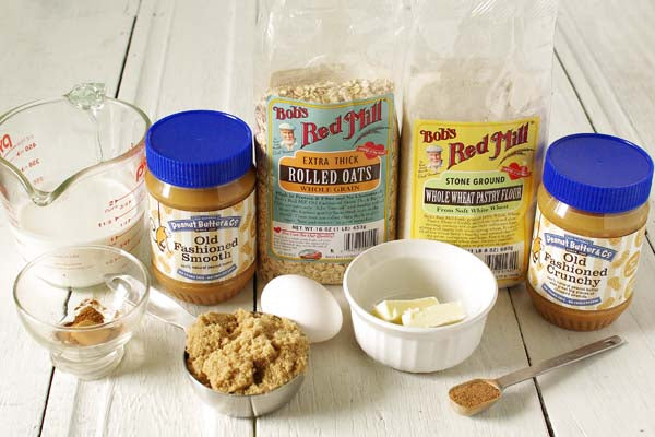 Good Morning Peanut Butter and Oats Coffee Cake Ingredients - Peanut Butter & Co. Old Fashioned Peanut Butters