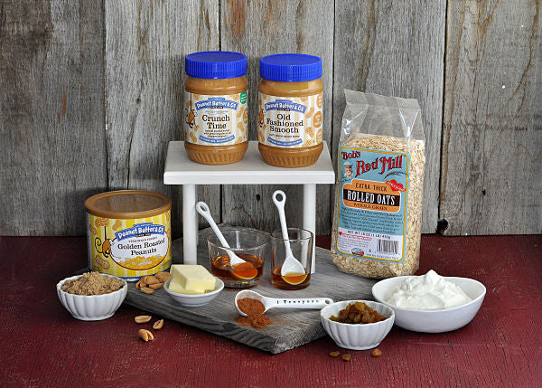 Peanut Butter and Oat-Crusted Breakfast Pizza Ingredients - Peanut Butter & Co. Old Fashioned Smooth peanut butter