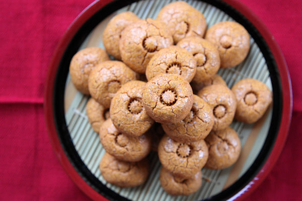 Spicy Lemon Peanut Cookies with The Heat Is On Peanut Butter - cool on the sheet for 10 minutes