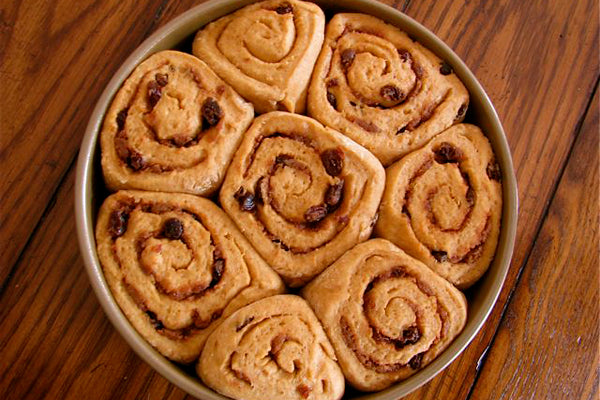 Peanut Butter Cinnamon Rolls - Either refrigerate, covered, overnight