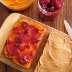 Sweet Potatoes and Cranberry Sauce