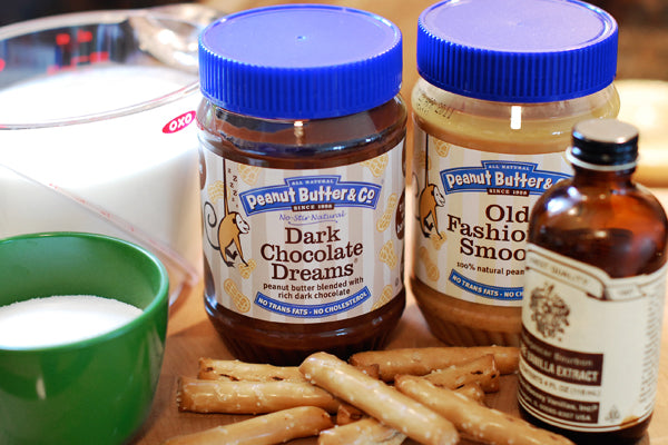 Double Peanut Butter & Pretzel Sundae Ingredients - Peanut Butter & Co. Peanut Butters