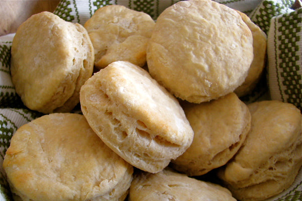 Peanut Butter Buttermilk Biscuits - Remove from pan; cool for 2 minutes on a wire rack