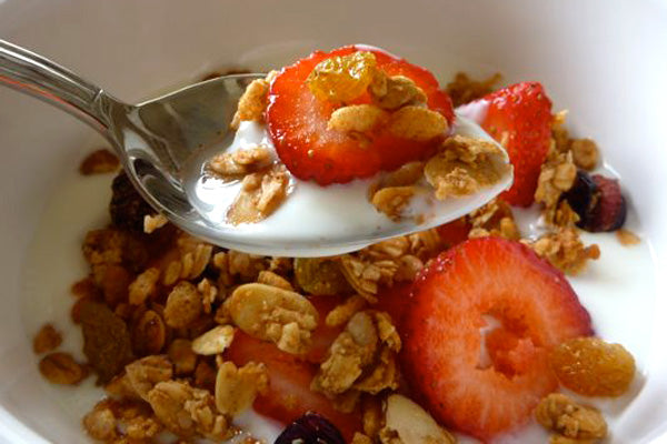 Maple Peanut Butter Granola - Serve with yogurt and fresh fruit, or however you like it