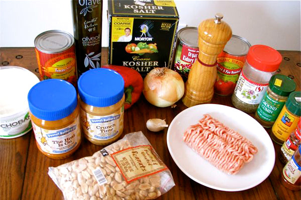 Peanut Butter Chicken Chili Ingredients - Peanut Butter & Co. Crunch Time Peanut Butter