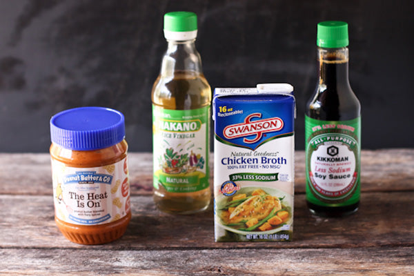 Spicy Peanut Butter Chicken Vegetable Stir Fry Ingredients - Peanut Butter & Co. The Heat Is On Peanut Butter