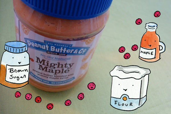 Cranberry Pecan Pie in a Maple Peanut Butter Crust Ingredients - Peanut Butter & Co. Mighty Maple Peanut Butter