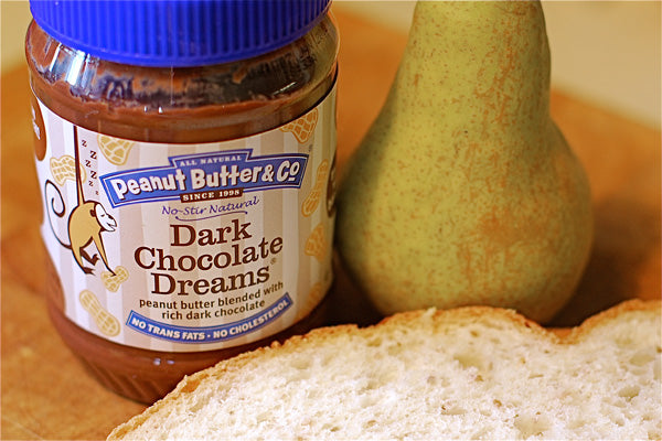 Dark Chocolate Dreams and Pear Panini Ingredients - Peanut Butter & Co. Dark Chocolate Dreams Peanut Butter