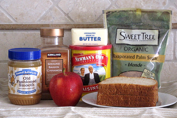 Grilled Fruit & Peanut Butter Dessert Sandwich Ingredients Peanut Butter & Co. Old Fashioned Smooth or Crunchy peanut butter