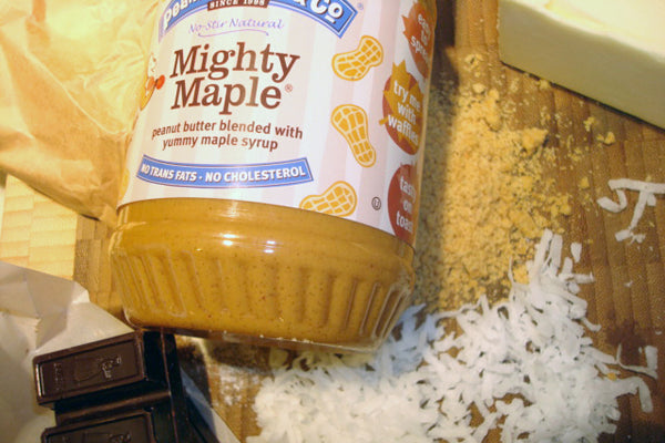 Peanut Butter Nanaimo Bars Ingredients - Peanut Butter & Co. Mighty Maple Peanut Butter