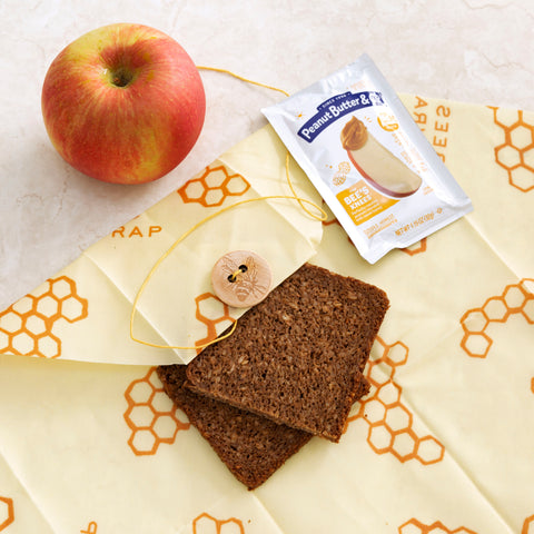 Peanut Butter & Co. Squeeze Pack with Bees Wrap Sandwich Wrap