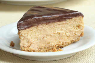 Peanut Butter Cheesecake with Pretzel Crisp Crust Recipe