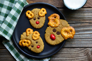Peanut Butter Reindeer Cookies Recipe
