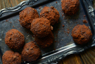 3-Ingredient Peanut Butter Chocolate Truffles Recipe