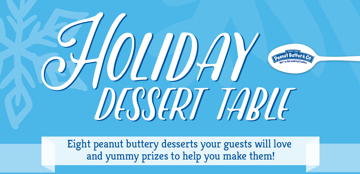 Peanut Butter & Co. Holiday Dessert Table