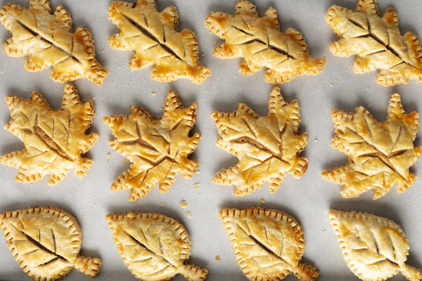 Fall Leaf Pie Cookies